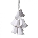 Lampa wisząca 9 Shades / Pendant, 9 lamp shades in one, white, 40W