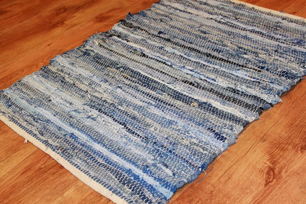 Коврик из старых джинс своими руками мастер класс