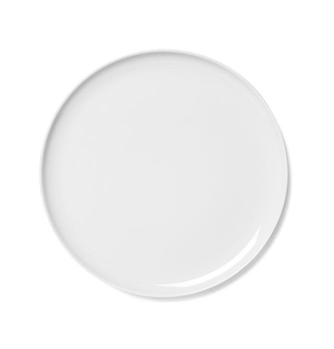 talerz deserowy menu new norm 23 cm white scandinavian living. Black Bedroom Furniture Sets. Home Design Ideas