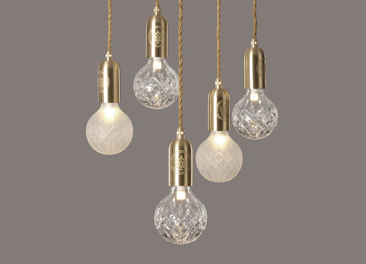 Clear Amp Frosted Crystal Bulb Chandelier Lee Broom