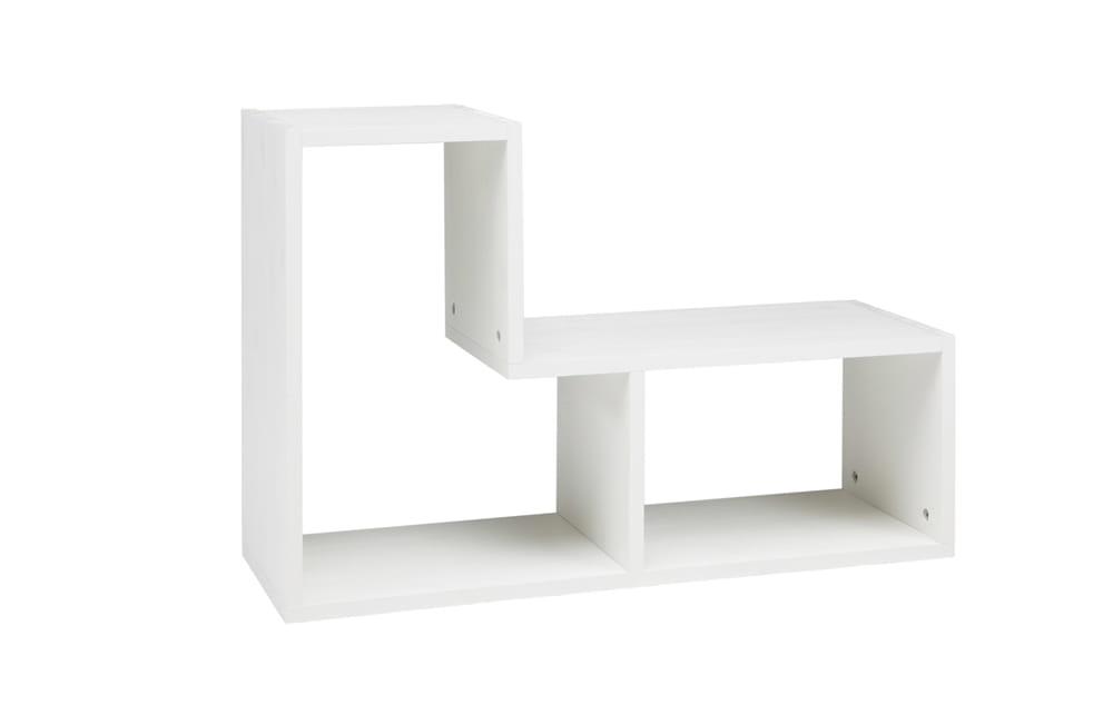P ka tetris woood bia a scandinavian living - Muur niche ...