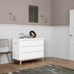 KOMODA WOOD z 6 szufladami Oliver Furniture
