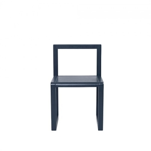 Krzesełko Little Architect Dark Blue Ferm Living