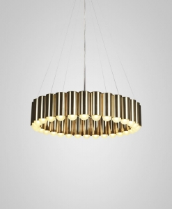 Lampa wisząca brass Carousel Lee Broom