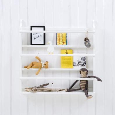 Półka Wisząca 3 Różne Kolory Oliver Furniture Scandinavian Living