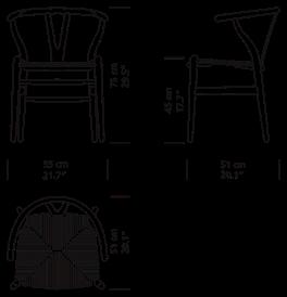Wishbone Chair Ch24 Krzesło Carl Hansen Amp Son