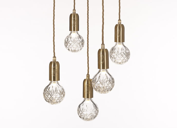 Clear Crystal Bulb Amp Pendant Lee Broom Scandinavian Living